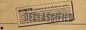 Restricted Declassified stamp - pixgood.com